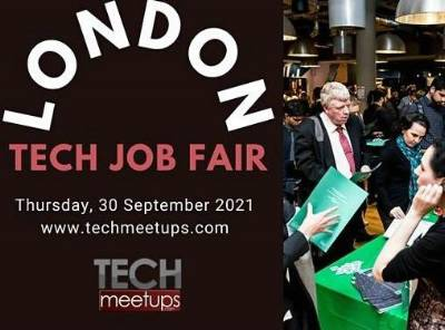 London Tech Job Fair 2021 By TechMeetups.Com